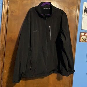 Free Tech Black Jacket Plus Size